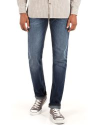 Racing Green - Dene Straight Fit Stonewash Jean - Lyst