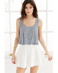 Kimchi Blue Printed Monday Tank Top - Lyst