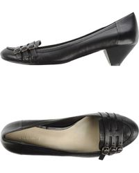 Nine West Moccasins black - Lyst
