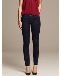 Banana Republic Dark Wash Boyfriend Jean Vintage Blue Wash - Lyst