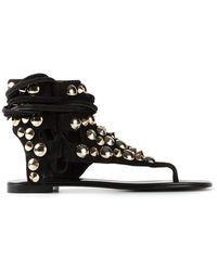 Giuseppe Zanotti Studded Sandals - Lyst