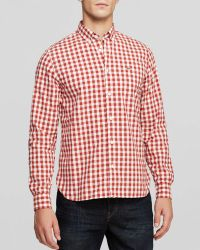 Lacoste Gingham Woven Sport Shirt  Regular Fit - Lyst