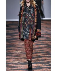 Etro - Embroidered Pyjama Trousers - Lyst