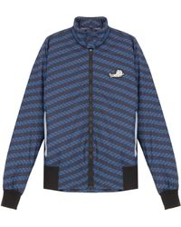 Kenzo Printed Bomber with Bag Pouch - Lyst