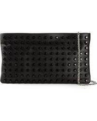 Claudio Orciani Studded Clutch - Lyst