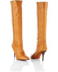 BOSS Orange - Leather Boots Suzane - Lyst