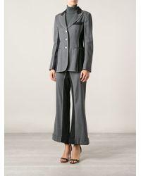 Moschino Vintage Stitch Detail Panelled Suit - Lyst