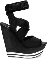 Steve Madden By Iggy Azalea Paatra Platform Wedge Sandals - Lyst