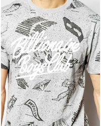 Billionaire Boys Club - Ice Cream Galaxy T-Shirt gray - Lyst