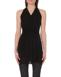 Rick Owens Grecian Jersey Top - For Women - Lyst