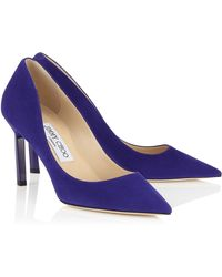 Jimmy Choo Purple Tish - Lyst