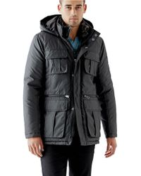 Guess Hooded Anorak Jacket - Lyst