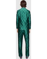 Gucci - Bee Jacquard Pajama Jacket - Lyst