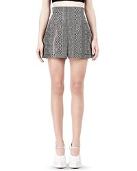 Alexander Wang Aline Short with Seamed in Pocket - Lyst