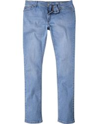 River Island Light Blue Danny Superskinny Jeans - Lyst