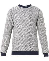Oliver Spencer Reversejersey Crewneck Sweatshirt - Lyst