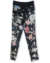 Gucci Silk Jogging Trousers - Lyst