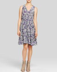 Rebecca Taylor Dress - Blossom Print Silk - Lyst