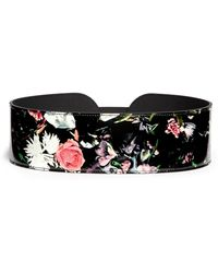 McQ by Alexander McQueen 'Festival Floral' Print Leather Belt - Lyst