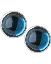 Links Of London Sweetie Xs Candy Gems Blue Topaz Stud Earrings Lyst