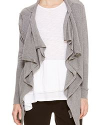 DKNY Pure Double Layer Cardigan - Lyst