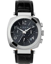 152240032 Links of London - Brompton Leather Strap Chronograph Watch - Lyst