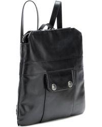 Miu Miu Leather Backpack - Lyst