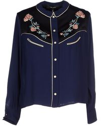 Isabel Marant Shirt blue - Lyst