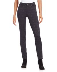 Two By Vince Camuto - Jacquard Skinny Jeans - Lyst