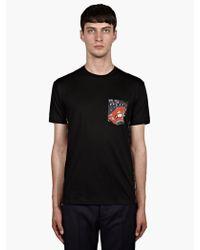 Jonathan Saunders Mens Floral Paisley Panel Tshirt - Lyst