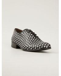 Acne Studios - Woven Oxford Shoe - Lyst