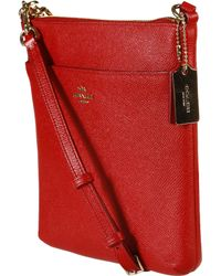 Coach Swingpack red - Lyst
