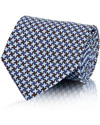 Petronius - Neat-pattern Necktie - Lyst