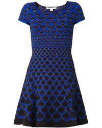 Diane Von Furstenberg Blue Alina Dress - Lyst