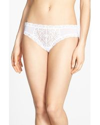 Natori 'Feathers' Hipster Briefs - Lyst