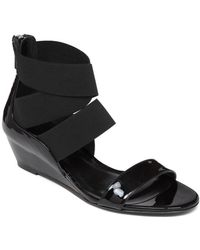 Delman Stretch Out The Summer With This Low-Wedge Sandal - Lyst