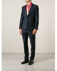 Paul Smith Blue Formal Suit - Lyst