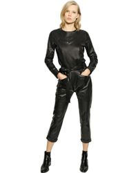 Each x Other - Nappa Leather Jumpsuit - Lyst