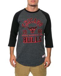 Mitchell & Ness The Chicago Bulls Raglan - Lyst