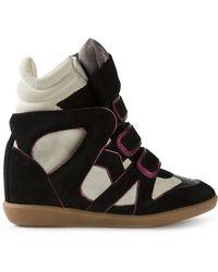 Isabel Marant Étoile 'Wila' Sneakers - Lyst