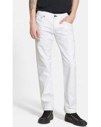 Rag & Bone Men'S 'Fit 2' Straight Leg Selvedge Denim Jeans - Lyst