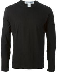 Comme Des Garçons Regular Fit Sweatshirt - Lyst