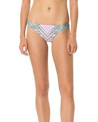 Mara Hoffman Low Rise Bikini Bottom - Lyst
