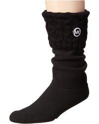 MICHAEL Michael Kors - Mk Cable Sock - Lyst