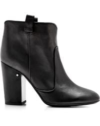 Laurence Dacade Pete Nubuck Leather Ankle Boots In Black - Lyst