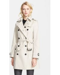 Burberry London Buckingham Cotton Trench Coat - Lyst