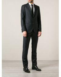 Giorgio Armani Gray Classic Suit - Lyst