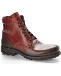 Kenneth Cole Reaction Cognac Heartbreaker Boots - Lyst