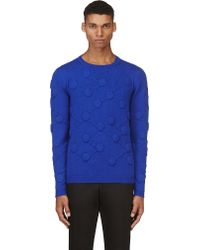 Christopher Kane 3d Molecule Cashmere Sweater - Lyst