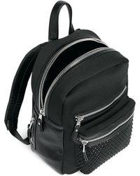 Ash - 'nicki' Crystal Embellished Neoprene Small Backpack - Lyst